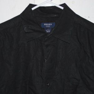 Brooks  sport mens    shirt size L J903